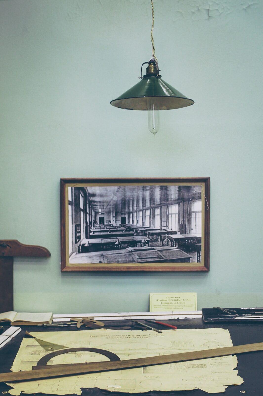 scrivania vintage